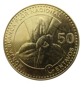 ГВАТЕМАЛА 50 СЕНТАВО 2012 ЦВЕТОК LYCASTE SKINN UNC доставка товаров из Польши и Allegro на русском