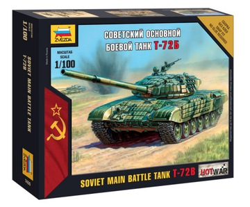 Звезда 1:100 T-72B - SOVIET MAIN BATTLE TANK доставка товаров из Польши и Allegro на русском