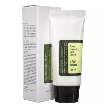 COSRX Aloe Soothing Sun Cream SPF+ PA+++ 50 мл доставка товаров из Польши и Allegro на русском