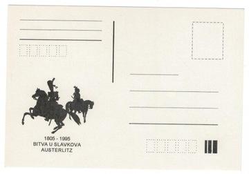 Czechy 1995 Kartka Napoleon Bitwa pod Austerlitz доставка товаров из Польши и Allegro на русском