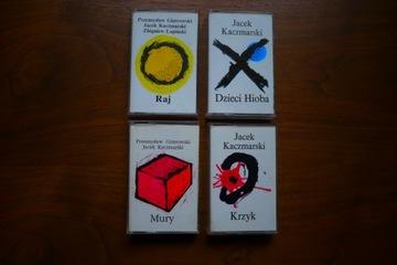Jacek Kaczmarski / P. Gintrowski - zestaw 4 kaset доставка товаров из Польши и Allegro на русском