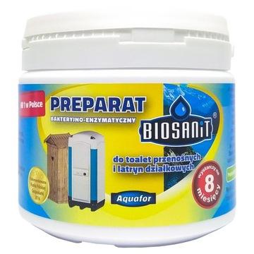 Biosanit Bakterie do latryn toalet Działka ZAPACHY