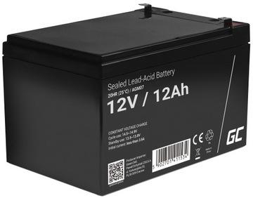 Akumulator żelowy AGM bateria 12V 12Ah do UPS AUTO доставка товаров из Польши и Allegro на русском
