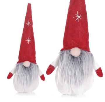 СКРЗАТ КРАСНАЛ Рождественский подарок 36см КРАТКА  доставка товаров из Польши и Allegro на русском