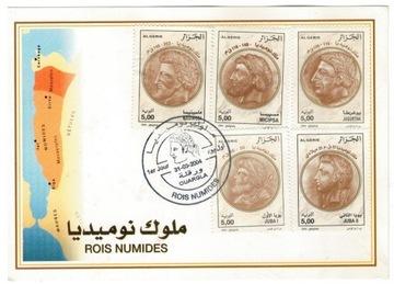 FDC Марки Алжир 2004 археология Numidia король доставка товаров из Польши и Allegro на русском