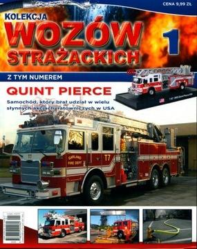KOLEKCJA WOZÓW STRAŻACKICH nr 1 + model QUINT PIER доставка товаров из Польши и Allegro на русском