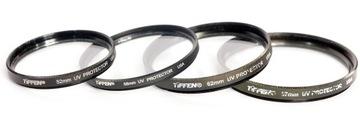 набор фильтров 4 штук Tiffen UV Protector USA доставка товаров из Польши и Allegro на русском