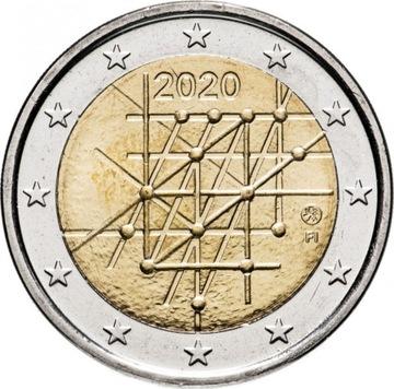 2 euro Finlandia Uniwersytet w Turku 2020 доставка товаров из Польши и Allegro на русском