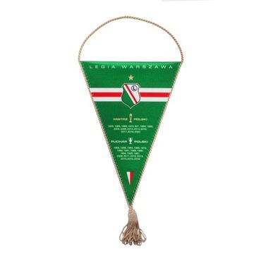 Legia Warsaw оригинальный клубный вымпел  доставка товаров из Польши и Allegro на русском
