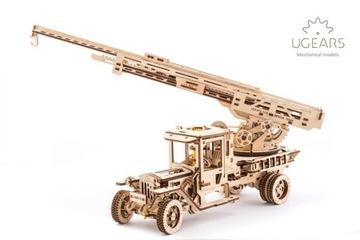 Пожарная охрана Модель механический doskładania Ugears доставка товаров из Польши и Allegro на русском