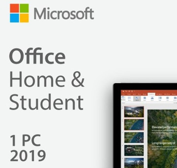 Microsoft Office Home and Student 2019 PL НОВЫЙ WIN доставка товаров из Польши и Allegro на русском