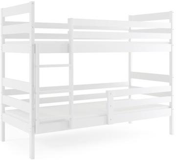 Łóżko piętrowe dla dzieci ERYK 190x80 i Materace