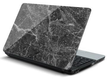 Наклейка на ноутбук: Черный мрамор с wtrąceniam 2 доставка товаров из Польши и Allegro на русском