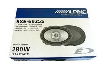 (ALPINE SXE-6925S автомобильные колонки 6x9 в полку) доставка товаров из Польши и Allegro на русском