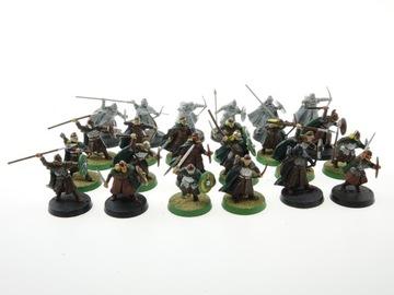 LOTR Warriors of Rohan zestaw 24 figurki доставка товаров из Польши и Allegro на русском