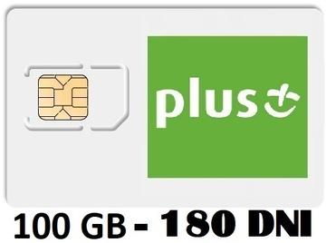 PLUS INTERNET NA KARTĘ iPLUS 100 GB 3G/LTE FV доставка товаров из Польши и Allegro на русском
