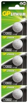 5x Bateria litowa GP CR2032 B5 3V LiMnO2 guzikowa доставка товаров из Польши и Allegro на русском