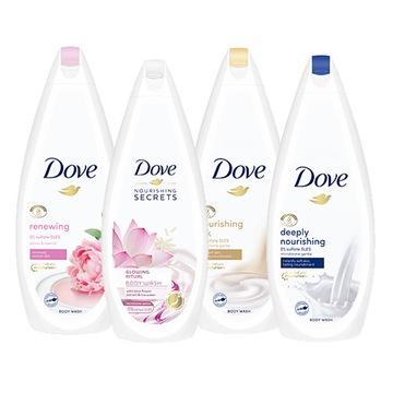 Dove Nourishing гель для душа 4 x 750 мл доставка товаров из Польши и Allegro на русском