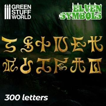 Elven Runes Symbols - 300 letters runy elfów доставка товаров из Польши и Allegro на русском