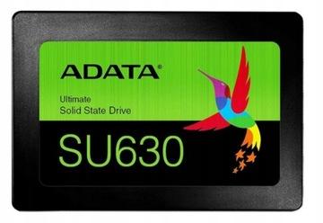 ТВЕРДОТЕЛЬНЫЙ накопитель ADATA Ultimate SU630 480 ГБ 2,5 520/450MBs доставка товаров из Польши и Allegro на русском