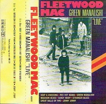 Fleetwood Mac Green Manalishi