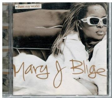 MARY J. BLIGE SHARE MY WORLD CD доставка товаров из Польши и Allegro на русском