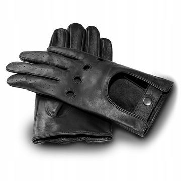 Автомобильные перчатки мужские сенсорные черные кожа доставка товаров из Польши и Allegro на русском