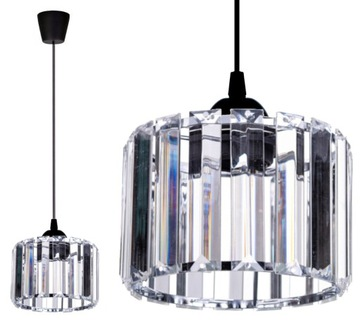 Szklana Lampa Wisząca Sufitowa Żyrandol Plafon LED доставка товаров из Польши и Allegro на русском