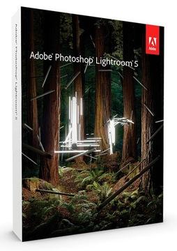 NOWY ADOBE PHOTOSHOP LIGHTROOM 5 PL/ENG WIN/MAC доставка товаров из Польши и Allegro на русском