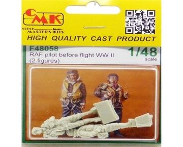 CMK F48058 RAF Pilots Before Flight (2fig) 1:48 доставка товаров из Польши и Allegro на русском
