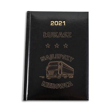 KALENDARZ KSIĄŻKOWY A5 DZIENNY 2021 GRAWER LOGO доставка товаров из Польши и Allegro на русском