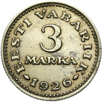 + Эстония - 3 Марка Марки 1926 - РЕДКАЯ - СОСТОЯНИЕ ! доставка товаров из Польши и Allegro на русском