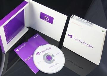 Visual Studio 2013 Professional (ПОЛНАЯ ВЕРСИЯ BOX) доставка товаров из Польши и Allegro на русском