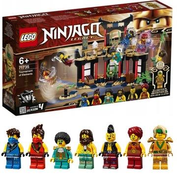 LEGO NINJAGO - Турнир стихий (71735) Храм  доставка товаров из Польши и Allegro на русском