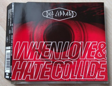 Def Leppard - When Love & Hate Collide singiel доставка товаров из Польши и Allegro на русском