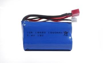 Литий-ионный аккумулятор 7.4 V Lion 1500mAh доставка товаров из Польши и Allegro на русском