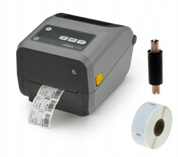 Принтер этикеток Zebra ZD420T,USB termotransferowa доставка товаров из Польши и Allegro на русском