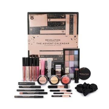 Makeup Revolution Zestaw Kalendarz Adwentowy 2020 доставка товаров из Польши и Allegro на русском