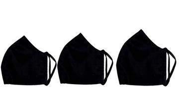 Маска Защитная хлопковая маска, черная M02  доставка товаров из Польши и Allegro на русском