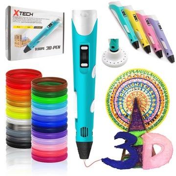 Принтер 3D-ручка 3D Pen 2 Поколение 100м Вклад доставка товаров из Польши и Allegro на русском