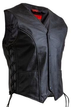 КОЖАНЫЙ ЖИЛЕТ специальная одежда для мотоциклистов ОЗОН STAFF r3XL доставка товаров из Польши и Allegro на русском