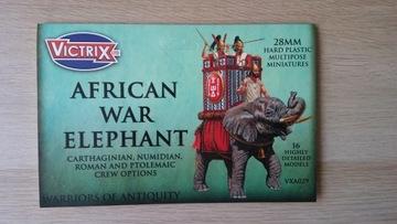 Figurki-African War Elephant -28mm-Victrix доставка товаров из Польши и Allegro на русском