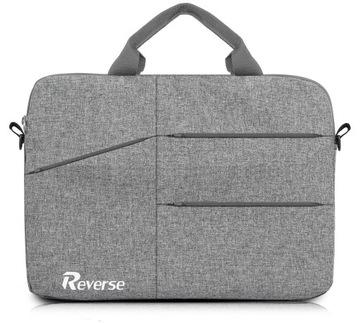 Reverse Сумка для ноутбука большая на плечо НОУТБУК 15,6 доставка товаров из Польши и Allegro на русском