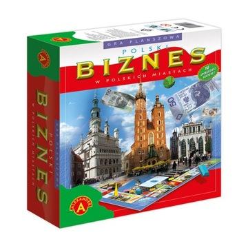 Gra planszowa POLSKI BIZNES MONOPOL EUROBIZNES доставка товаров из Польши и Allegro на русском