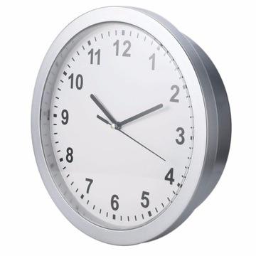 Настенные часы сейф сейф тайник 25 см Серебро доставка товаров из Польши и Allegro на русском