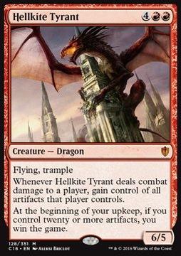 Hellkite Tyrant - przejmuje artefakty @@@@@@ доставка товаров из Польши и Allegro на русском