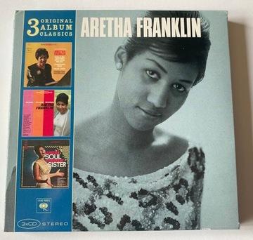 Арета Франклин – 3 Original Album Classics доставка товаров из Польши и Allegro на русском