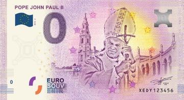 Банкноты 0 Евро -Иоанн Павел II - Германия - 2019 доставка товаров из Польши и Allegro на русском