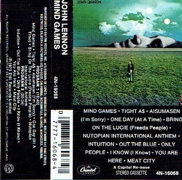 John Lennon Mind Games /MC доставка товаров из Польши и Allegro на русском