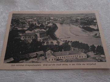 Pocztówka - WILNO 1916 доставка товаров из Польши и Allegro на русском